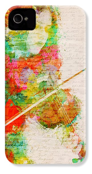Music In My Soul IPhone 4 Case by Nikki Smith