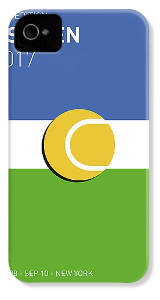 My Grand Slam 04 Us Open 2017 Minimal Poster IPhone 4 Case by Chungkong Art