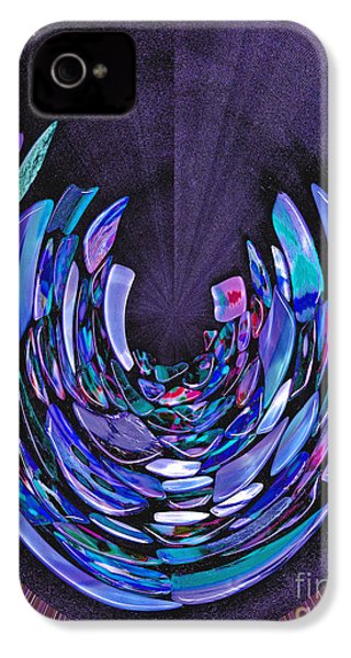 Mystery In Blue And Purple IPhone 4 Case by Nareeta Martin