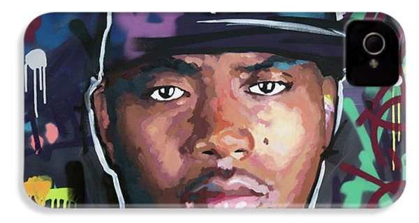 Nas IPhone 4 Case by Richard Day
