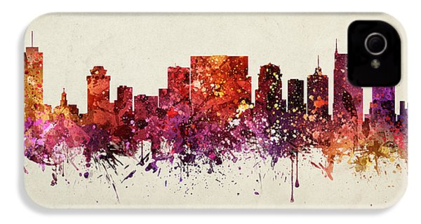 Nashville Cityscape 09 IPhone 4 Case