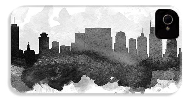 Nashville Cityscape 11 IPhone 4 / 4s Case by Aged Pixel