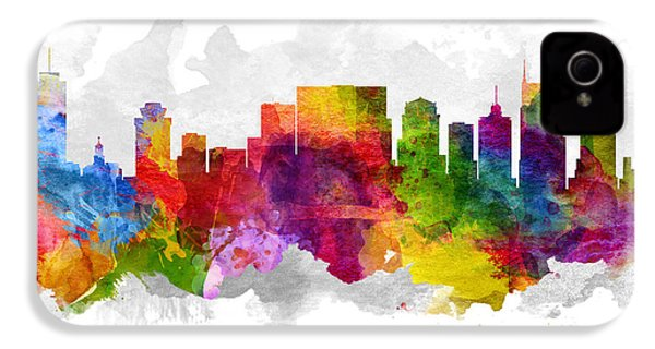 Nashville Tennessee Cityscape 13 IPhone 4 / 4s Case by Aged Pixel