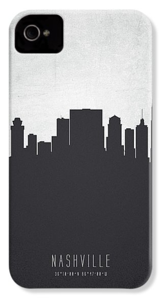 Nashville Tennessee Cityscape 19 IPhone 4 / 4s Case by Aged Pixel