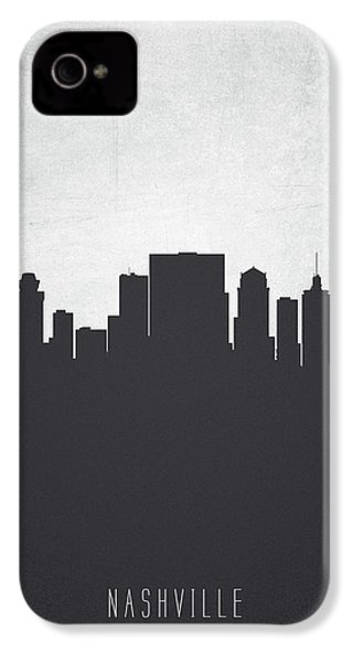 Nashville Tennessee Cityscape 19 IPhone 4 Case by Aged Pixel