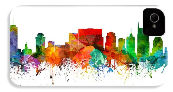 Nashville Tennessee Skyline 21 IPhone 4 / 4s Case by Aged Pixel