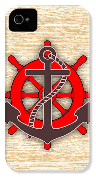 Nautical Collection IPhone 4 Case by Marvin Blaine