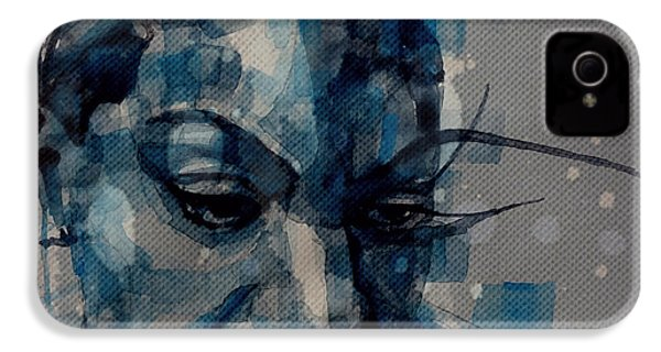 Ne Me Quitte Pas  IPhone 4 / 4s Case by Paul Lovering