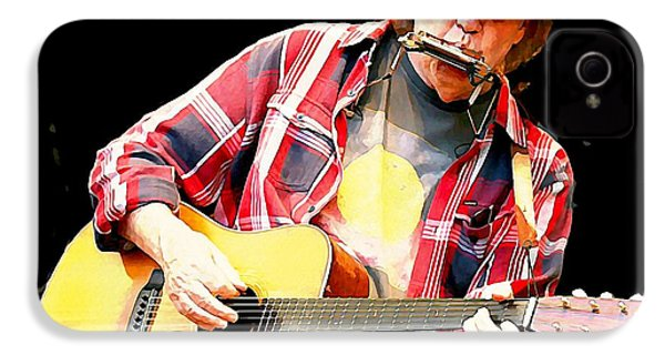 Neil Young IPhone 4 Case by John Malone