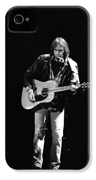 Neil Young IPhone 4 Case by Wayne Doyle