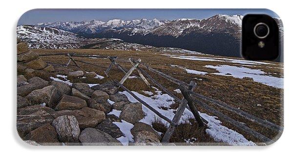 Never Summer Range IPhone 4 Case by Gary Lengyel
