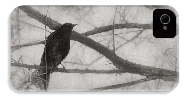Nevermore IPhone 4 Case by Melinda Wolverson