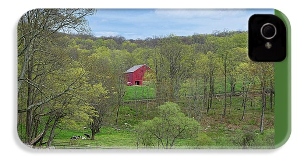 IPhone 4 Case featuring the photograph New England Spring Pasture by Bill Wakeley