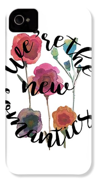 New Romantics IPhone 4 / 4s Case by Patricia Abreu