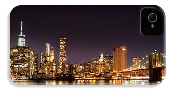 New York City Lights At Night IPhone 4 / 4s Case by Az Jackson