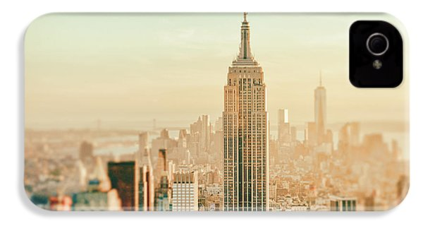 New York City - Skyline Dream IPhone 4 / 4s Case by Vivienne Gucwa