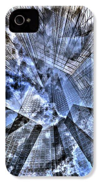 New York Iris Collage IPhone 4 Case by Dave Beckerman