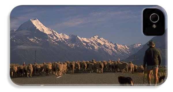 New Zealand Mt Cook IPhone 4 Case
