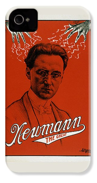 Newmann The Great - Vintage Magic IPhone 4 / 4s Case by War Is Hell Store