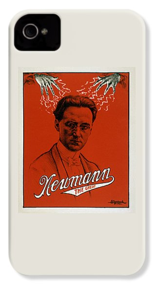 Newmann The Great - Vintage Magic IPhone 4 Case by War Is Hell Store