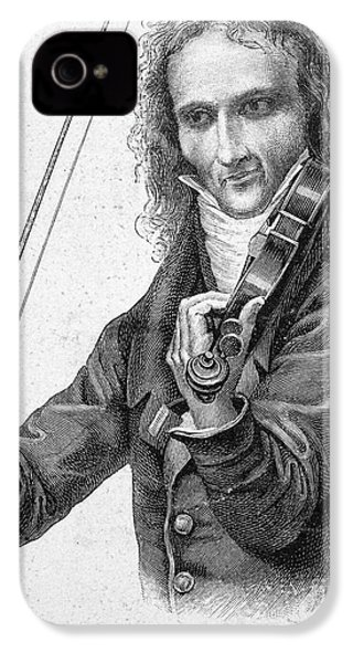 Nicolo Paganini IPhone 4 / 4s Case by Granger