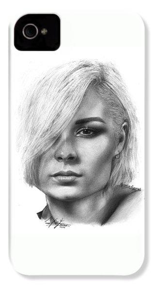 Nina Nesbitt Drawing By Sofia Furniel IPhone 4 Case