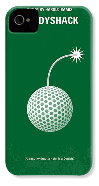 No013 My Caddy Shack Minimal Movie Poster IPhone 4 Case