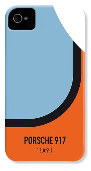 No016 My Le Mans Minimal Movie Car Poster IPhone 4 / 4s Case by Chungkong Art
