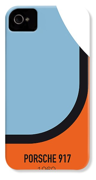 No016 My Le Mans Minimal Movie Car Poster IPhone 4 Case