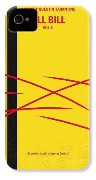 No049 My Kill Bill-part2 Minimal Movie Poster IPhone 4 Case by Chungkong Art