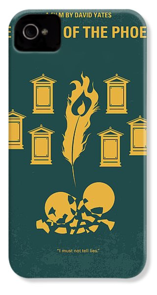 No101-5 My Hp - Order Of The Phoenix Minimal Movie Poster IPhone 4 / 4s Case by Chungkong Art