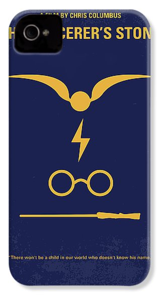 No101 My Harry Potter Minimal Movie Poster IPhone 4 / 4s Case by Chungkong Art