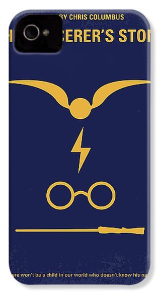 No101 My Harry Potter Minimal Movie Poster IPhone 4 Case by Chungkong Art