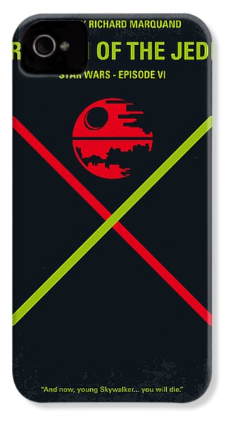 No156 My Star Wars Episode Vi Return Of The Jedi Minimal Movie Poster IPhone 4 Case by Chungkong Art