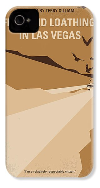 No293 My Fear And Loathing Las Vegas Minimal Movie Poster IPhone 4 Case by Chungkong Art