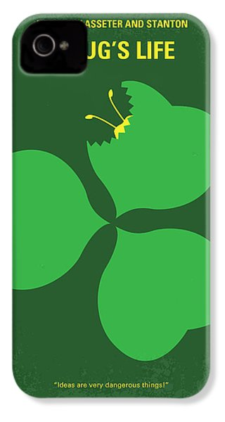 No401 My A Bugs Life Minimal Movie Poster IPhone 4 Case