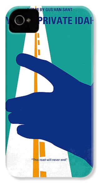 No472 My Own Private Idaho Minimal Movie Poster IPhone 4 Case by Chungkong Art