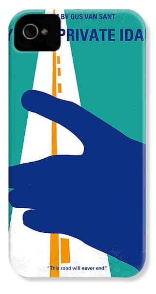 No472 My Own Private Idaho Minimal Movie Poster IPhone 4 Case