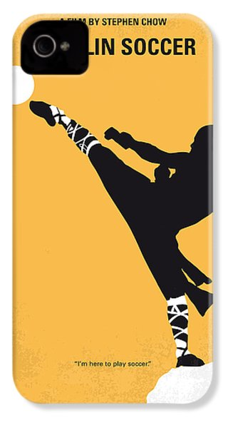 No480 My Shaolin Soccer Minimal Movie Poster IPhone 4 / 4s Case by Chungkong Art