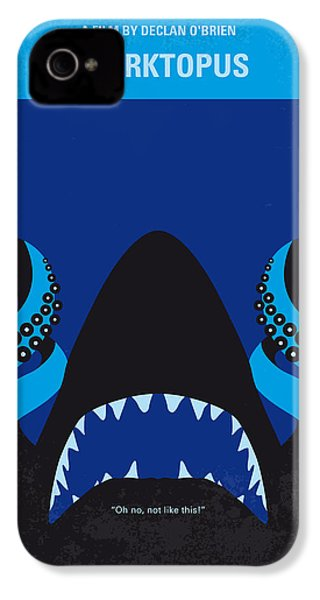 No485 My Sharktopus Minimal Movie Poster IPhone 4 / 4s Case by Chungkong Art