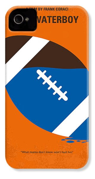 No580 My The Waterboy Minimal Movie Poster IPhone 4 / 4s Case by Chungkong Art