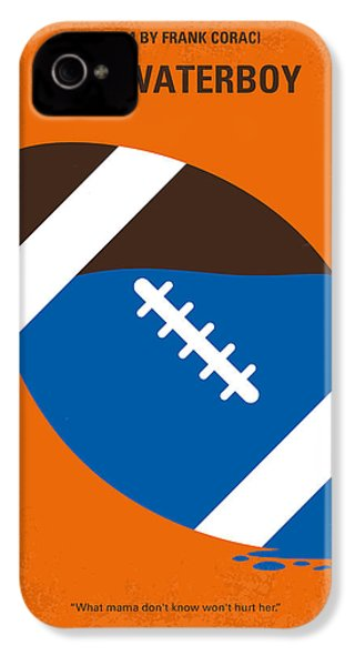 No580 My The Waterboy Minimal Movie Poster IPhone 4 Case