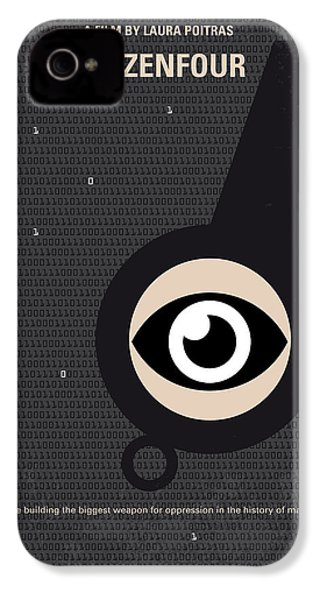 No598 My Citizenfour Minimal Movie Poster IPhone 4 Case by Chungkong Art