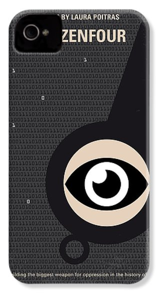No598 My Citizenfour Minimal Movie Poster IPhone 4 Case