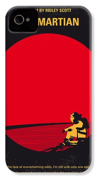 No620 My The Martian Minimal Movie Poster IPhone 4 Case