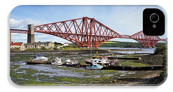 IPhone 4 Case featuring the photograph North Queensferry by Jeremy Lavender Photography
