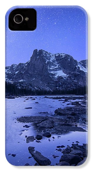 IPhone 4 Case featuring the photograph Notchtop Night Vertical by Aaron Spong