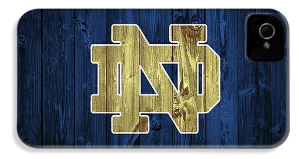 Notre Dame Barn Door IPhone 4 Case by Dan Sproul