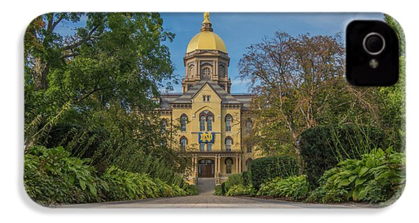 Notre Dame University Q IPhone 4 / 4s Case by David Haskett