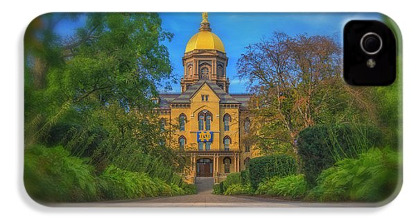Notre Dame University Q2 IPhone 4 / 4s Case by David Haskett